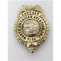 Collectilbe - North American Aviation Inc., Fire  Department Badge