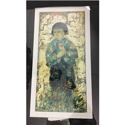Collectible -  Edna Hibel Lithograph