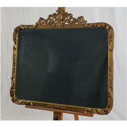 Collectible - LARGE ORNATE GILDED MIRROR, URN, ACANTHUS LEAVES