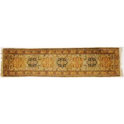 "Collectilbe - Oriental Runner Carpet 9'10"" x 2'6""."