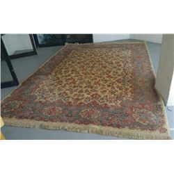 Collectible - KARASTAN ALL WOOL CARPET IVORY KIRMAN