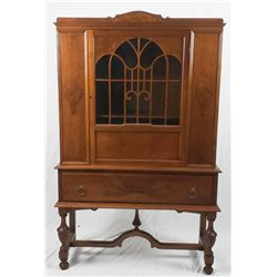 Collectible - Fancy Wood China Cabinet