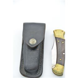 Collectible - Buck 112 Ranger Folding Knife and Sheath