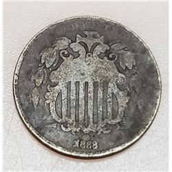 Coins - 1868 Shield Nickel