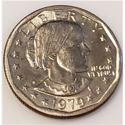 Coins - 1979 Wide Rim Susan B Anthony Dollar
