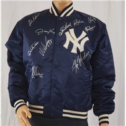 Collectible - JSA Certified 1996 New York Yankees Autographed Jacket with (10) Signatures