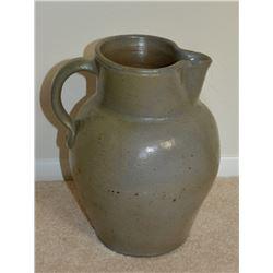 Collectible - Isaac Thomas 2 Gallon Stoneware Pitcher
