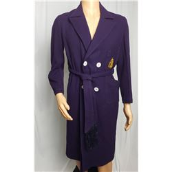 Collectible - Vintage Parkella Purple US Naval Academy Robe with The Sash
