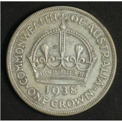Australia 1938 Crown Extremely Fine