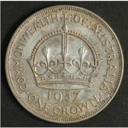 Australia 1937 Crown, Uncirculated