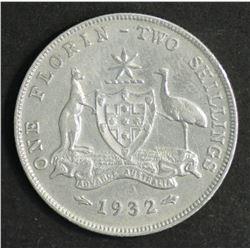 Australia 1932 Florin