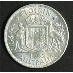 Australia 1942 S Florin