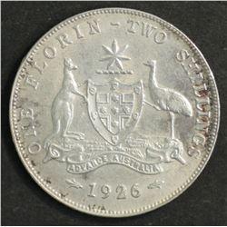 Australia1926 Florin Good VF