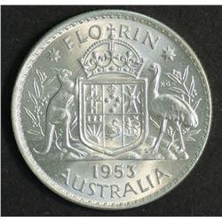 Australia 1953 Florin