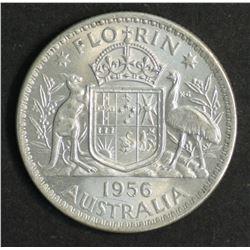 Australia 1956 Florin