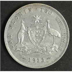 Australia Florin 1913