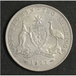 Australia Florin 1921