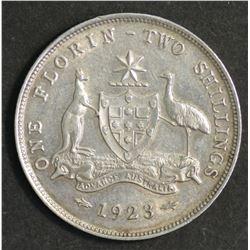 Australia Florin 1923