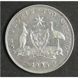 Australia Florin 1926