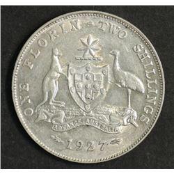 Australia Florin 1927