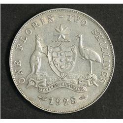 Australia Florin 1928