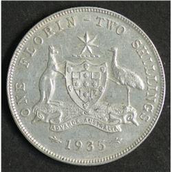 Australia Florin 1935/35