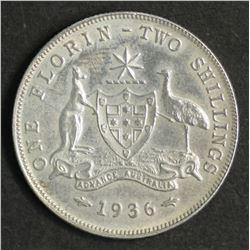 Australia Florin 1936