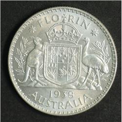 Australia Florin 1938