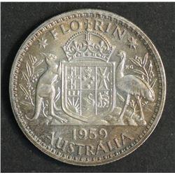 Australia Florin 1959 Proof FDC