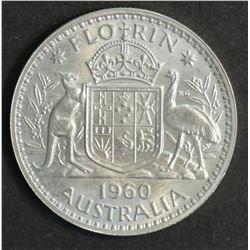 Australia Florin 1960 Proof FDC