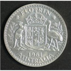Australia Florin 1961 Proof FDC