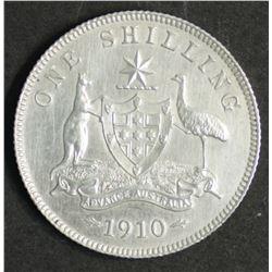 Australia 1910 Shilling