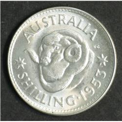 Australia Shilling 1953