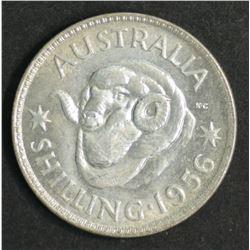 Australia Shilling 1956