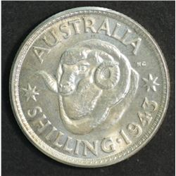 Australia Shilling 1943