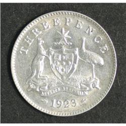 Australia Threepence 1923