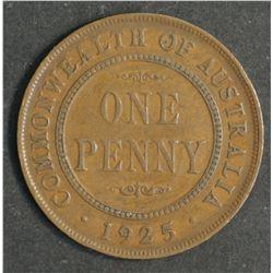 Australia 1925 Penny Fine/GFine