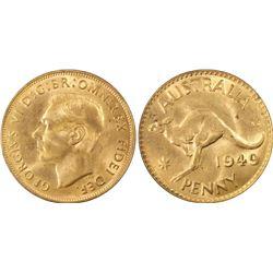 Australia 1949 M Penny