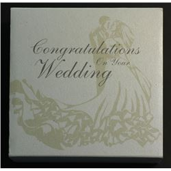 Australia 1 Ounce Silver Proof, Congratulations on your Wedding