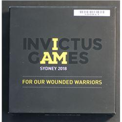 Australia 2018 Silver Proof Invictus Games