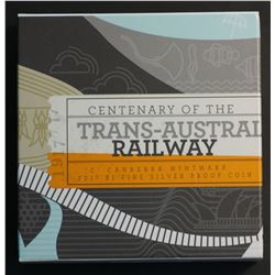 Australia Silver Proof Trans Continental Railway