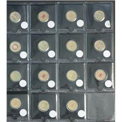 Australia Coloured $2 Coins 39 Coins Uncirculated