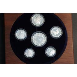Australia 2003 Fine Silver Set