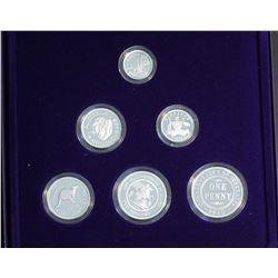 Australia 1999 Masterpieces in Silver