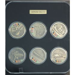 Vietnam Combined Arms Medal Set Attractive