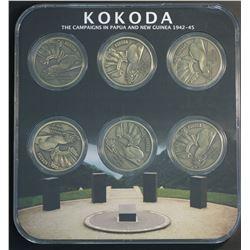 Kokada Track Medallion Set