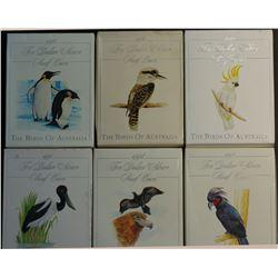 Australia Complete Set of Bird Proofs 1989 to 1994
