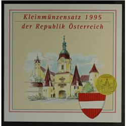 Austria 1995 Uncirculated Set