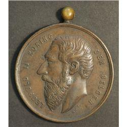 Belguim Copper Medal 1907