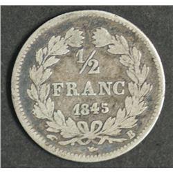 France 1/2 Franc 1845